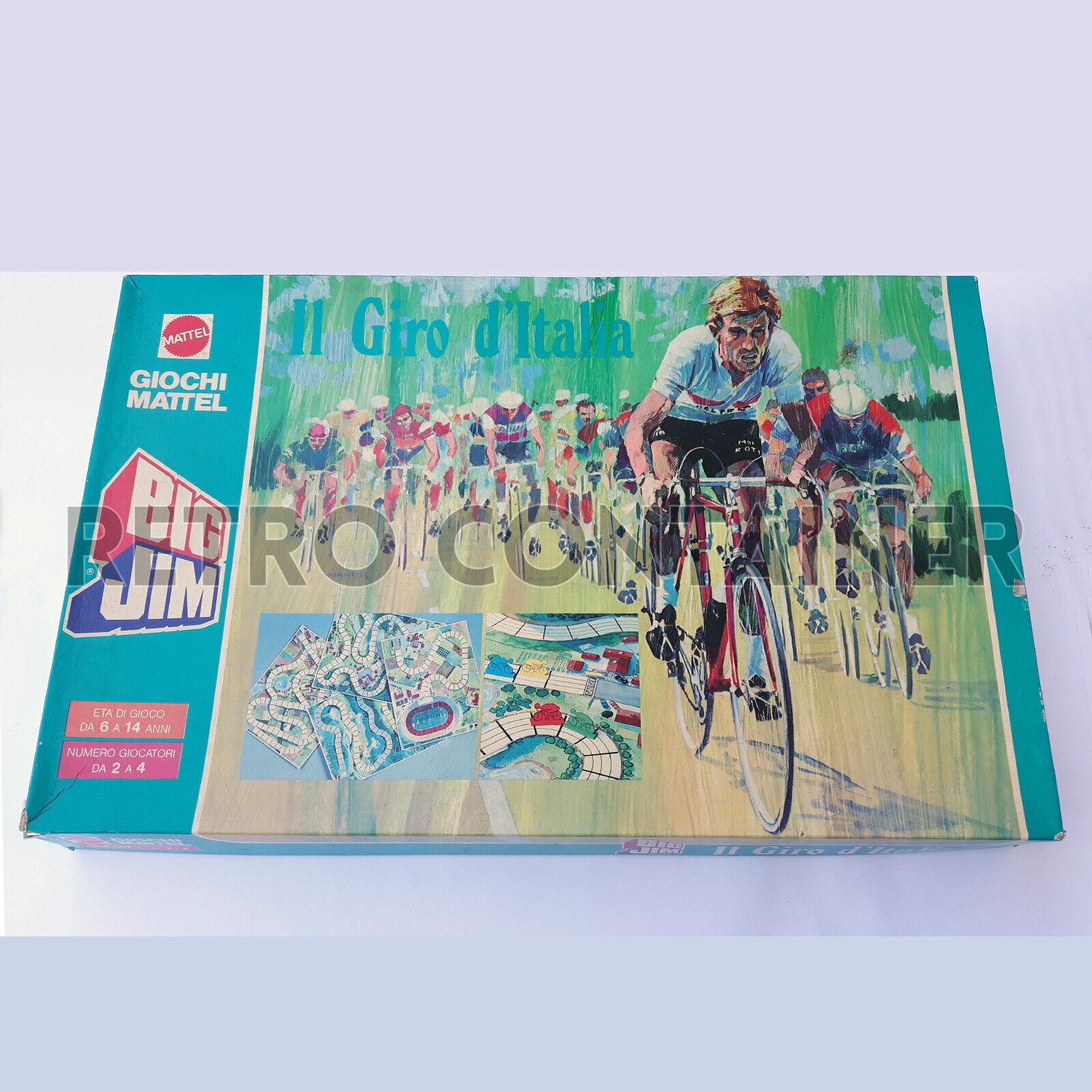 Vintage Board Game Mattel - BIG JIM - Il GIro d'Italia - Quasi Completo Ottimo