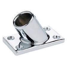 Sea-Dog Chrome Plated Zinc 60-Degree Rectangular Base #286160-1