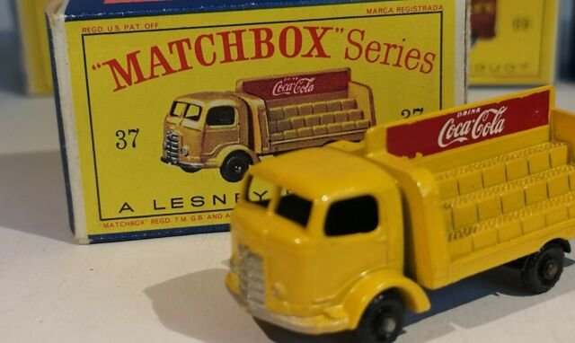 Lot 77: Vintage Matchbox Coca-Cola Lorry Karrier Bantam #37 - NEW IN BOX - Excel