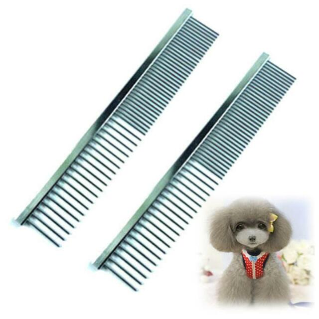 Pet Grooming Beauty Combs Body Hair Trimmer Dog Cat Massge Metal Comb Rakesけ