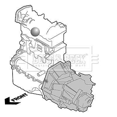 BORG /& BECK Moteur Montage Mount BEM3892-Genuine-Garantie 5 an