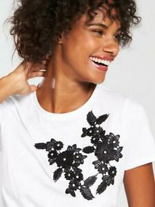 V-by-Very-Flower-Embroidered-T-Shirt-White