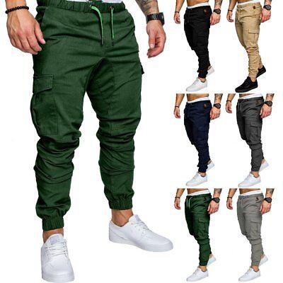 Men/'s Sport Pants Long Trousers Tracksuit Fitness Workout Joggers Gym Sweatpants