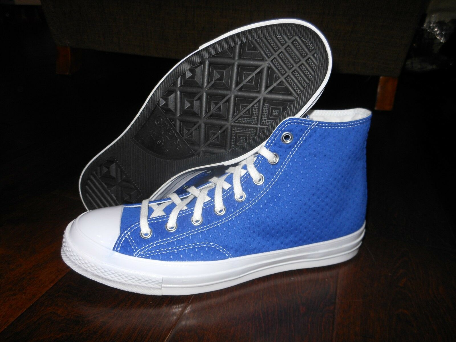 CONVERSE CTAS 70's Blank Canvas NY 156300C shoes Size 10 US 44 EUR Ultrasonicblue
