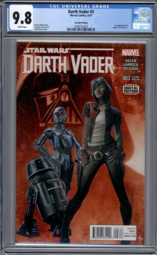 0-0-0 /& BT-1   2nd Print  CGC 9.8 Darth Vader #3   1st Appearance of Doc Aphra