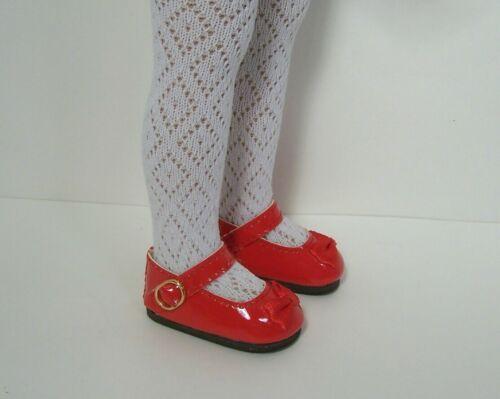 "Debs RED Patent MJ CF Doll Shoes For Dianna Effner 13/"" Little Darling Vinyl"