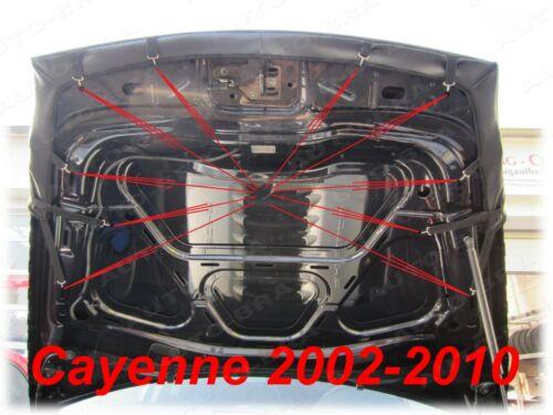 HOOD BRA for Porsche Cayenne 2002-2010 BONNET BRA NOSE FRONT END COVER MASK