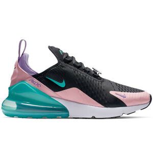 new product 41eeb c9574 Details about Nike Air Max 270 Have A Nike Day Mens CI2309-001 Black Jade  Coral Shoes Size 15