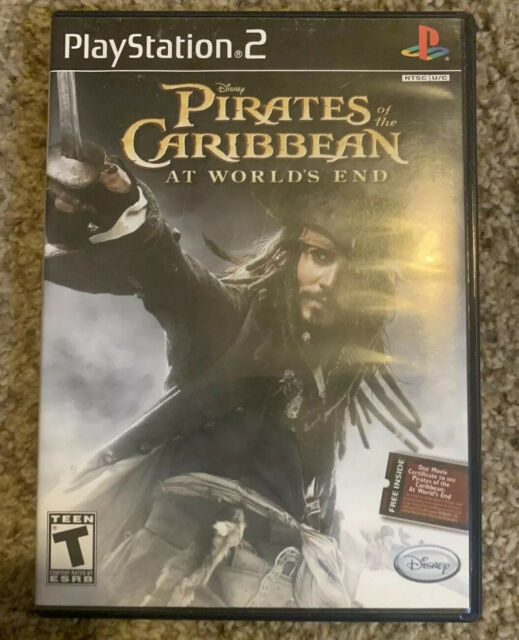 Pirates Of The Caribbean At World S End W Bonus Movie Ticket Ps2 For Sale Online Ebay