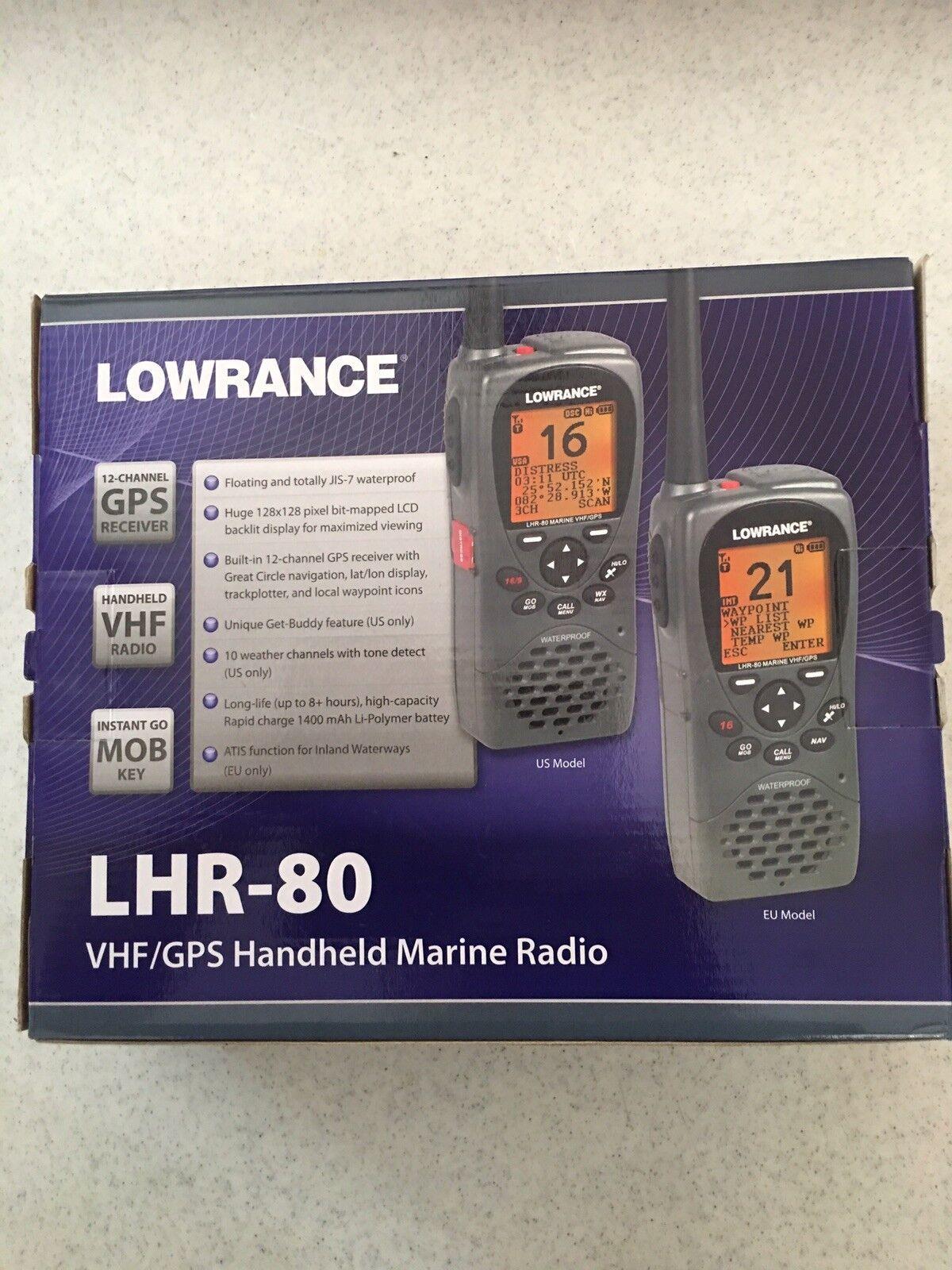 """""""Loweance LHR80 VHSGPS Handheld Marine Radio"""""""