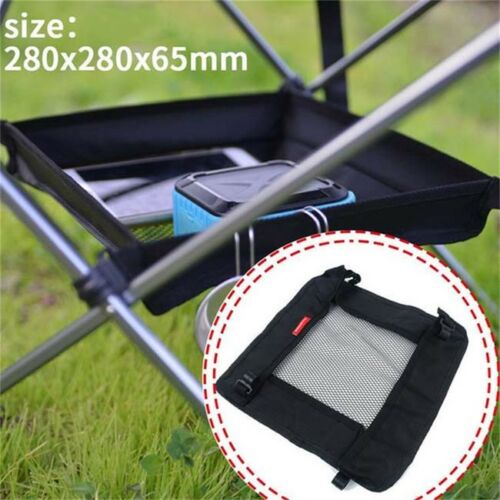 Folding Table Outdoor Camping Picnic Fishing Chair Hanging Mesh Bag 8C