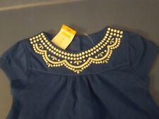 Gymboree Butterfly Batik 2T 3T 4T 5T Blue Cinched Waist Dress Summer 17