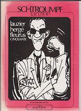 Schtroumpf fanzine n°26 - 1979. hergé, lauzier, Fleurus...