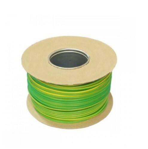 Terre Tri-Rated Panneau /& Conduit Câble 2.5 mm² 14AWG 30Amp 600 V vert//jaune