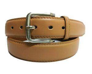 Mode Genießen Sie kostenlosen Versand heiß seeling original Details zu Gürtel Braun Cognac Herren Damen Jeans-Gürtel 4 cm Breit Luxus  Belt 6 Größen NEU