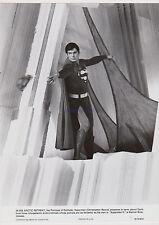 SUPERMAN II ORIGINAL 1980 STUDIO PHOTO CHRISTOPHER REEVE FORTRESS OF SOLITUDE