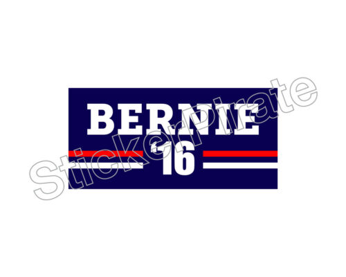 Bernie 16 Sanders For President 2016 Bumper Sticker Trm 251 * Car Magnet