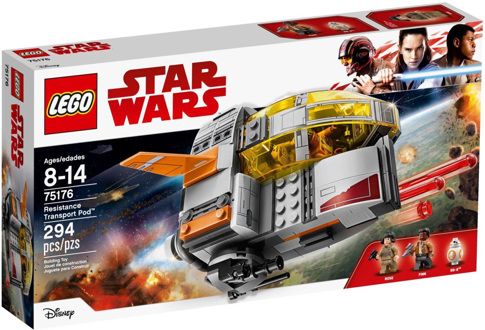 LEGO Star Wars Wars Wars - 75176 Resistance Transport Pod mit Finn - Neu & OVP bff17a