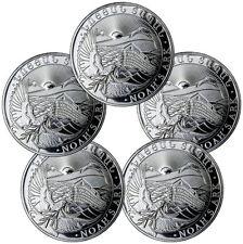 2017 Armenia 500 Drams 1 oz. Silver Noah's Ark - Lot of 5 Coins SKU45191