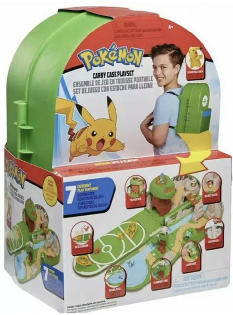 Pokemon Carry Case Playset Backpack Toy