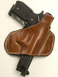 Details about Cebeci 20887LT07 Left-Hand Leather Half Pancake 20887  Holster, Tan