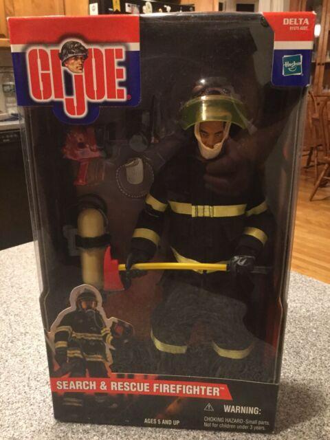 GI Joe Search /& Rescue Team Powersaw Firefighter Action Figure Hasbro