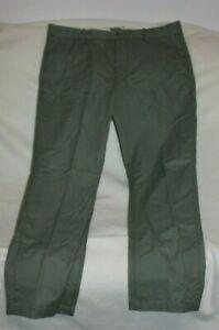 Levi-039-s-Slim-Straight-Leg-Pants-Size-38-x-30-Men-Gray-Flat-Front-Casual-EUC