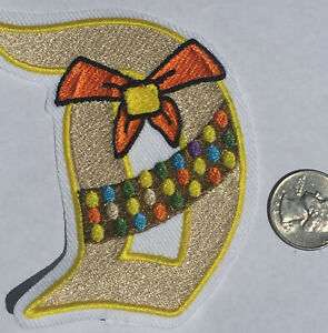 Patches Disney D Tinkerbell Iron On Embroidered Patch