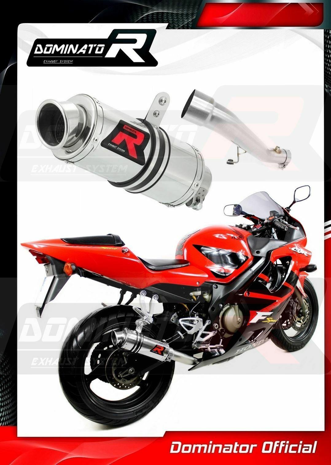 Dominator Exhaust silenciador de escape GP I Honda CBR 1100 XX 96-06 DB Killer