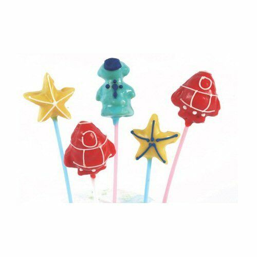 Tala Silicone Space Shapes 8 Cup Cake Pop Mold with Sticks
