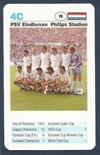 TOP TRUMPS-EUROPEAN CLUB FOOTBALL-1992- #4C-PSV EINDHOVEN-PHILIPS STADION