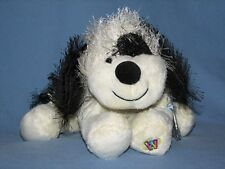 Webkinz Retired Black and White Cheeky Dog  NWT  *Cute!**SPEEDY Shipping w/ a :D
