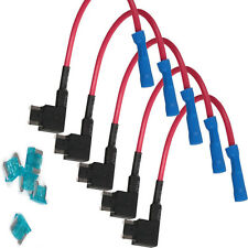 HOTSYSTEM  5x 15A TAP Mini Add-a-circuit ATM Low Profile Blade Fuse Holder Sale