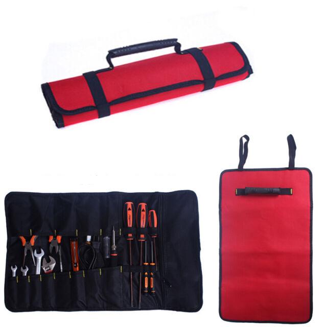 New Hardware Kit Tool Roll Bag Plier Screwdriver Spanner Carry Case Durable Bag