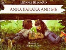 Anna Banana and Me, by Lenore Blegvad, Erik Blegvad Classic 1987 picturebook