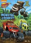 Hologramatic Sticker Book: Monster in the Forest! (Blaze and the Monster Machines) by Rachel Chlebowski and Golden Books (Paperback)