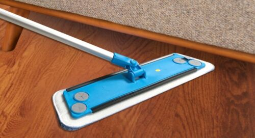 Microfiber Mop Kit For All Floor Types 100/% Green Clean