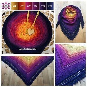 Skye-Mandala-Yarn-Gradient-Ombre-Cake-Yarn-Cotton-Acrylic-50-50-GALAXY