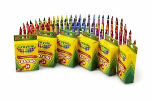 Crayola-24-Count-Crayons-6-Pack-6-Pack-Back-To-School-Supplies-Bulk-Lot-Of