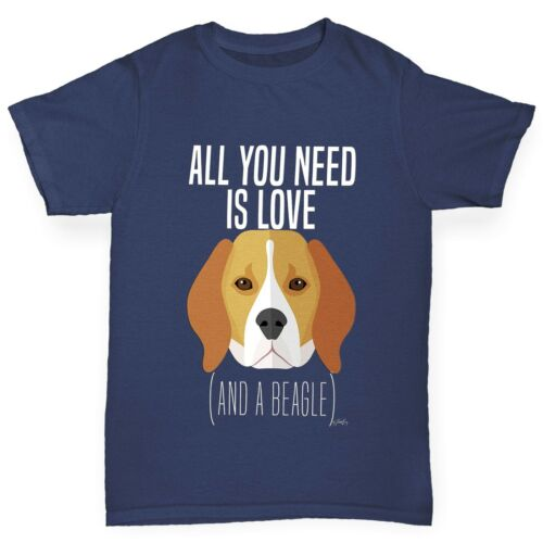 Twisted Envy Girl/'s All You Need Is A Beagle T-Shirt
