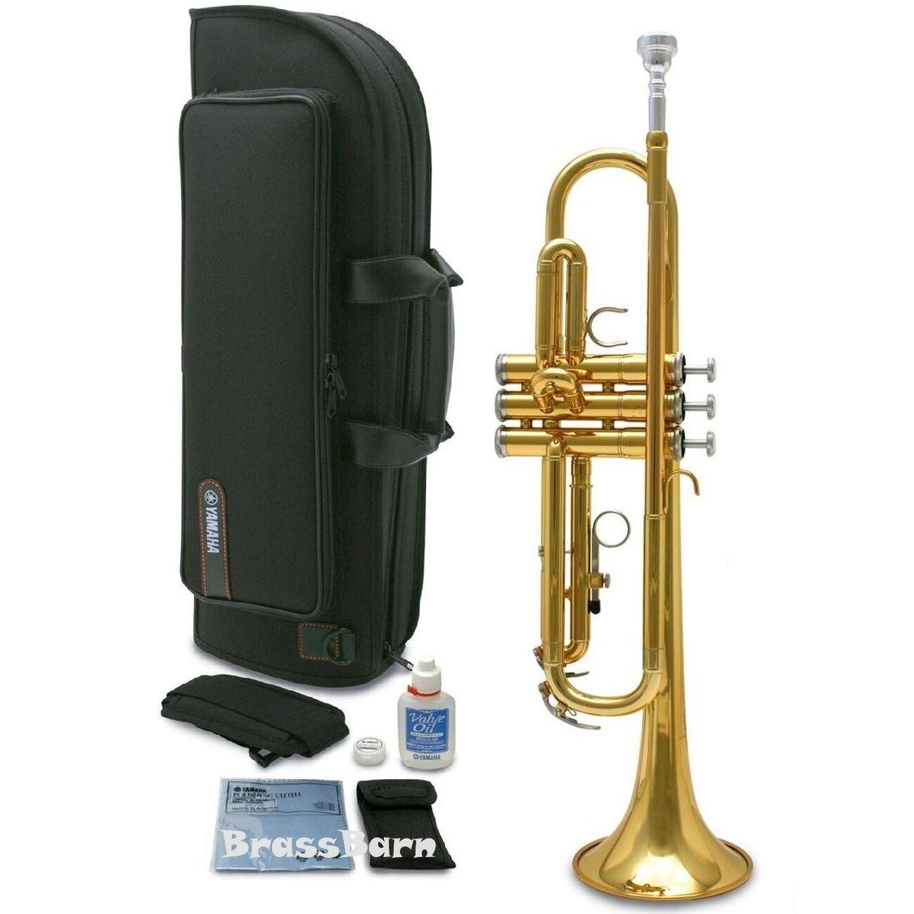 Yamaha YTR-2330 Bb Trumpet gold Lacquer FREE SHIPPING BrassBarn