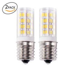 2x  E17 LED Bulb Microwave Oven Light Non-Dimmable 4 Watt Natural White 6000K