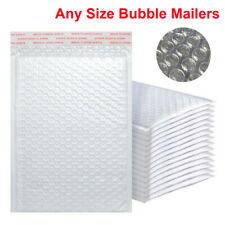 Any Size Poly Bubble Mailers Shipping Mailing Padded Bags Envelopes Self Sealing