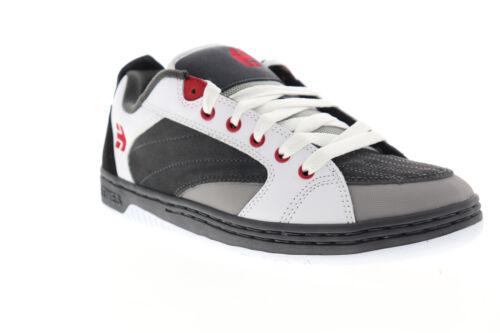 Etnies Czar 4101000508372 Mens Gray Suede Leather Lace Up Athletic Skate Shoes