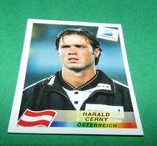 N°150 HARALD CERNY ÖSTERREICH PANINI FOOTBALL FRANCE 98 1998 COUPE MONDE WM