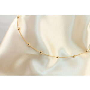 18k-Gold-Filled-Beads-Belly-Chain-or-Belt-100-cm-Long-Chain-New-Design-TK199