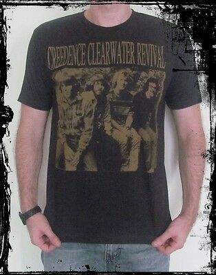 Creedence Clearwater Revival Unisex Rock T-Shirt -TankTop Singlet  Size S M L XL