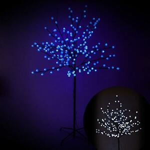 Led christmas trees 5ft light up outdoor berry tree decorations ebay image is loading led christmas trees 5ft light up outdoor berry aloadofball Images