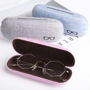 Portable-Linen-Eye-Glasses-Case-Sunglasses-Protector-Eyewear-Storage-Box-Solid