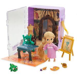 Disney-Rapunzel-Mini-Micro-Animator-039-s-Muneca-6-Pieza-Playset-de-Juguete